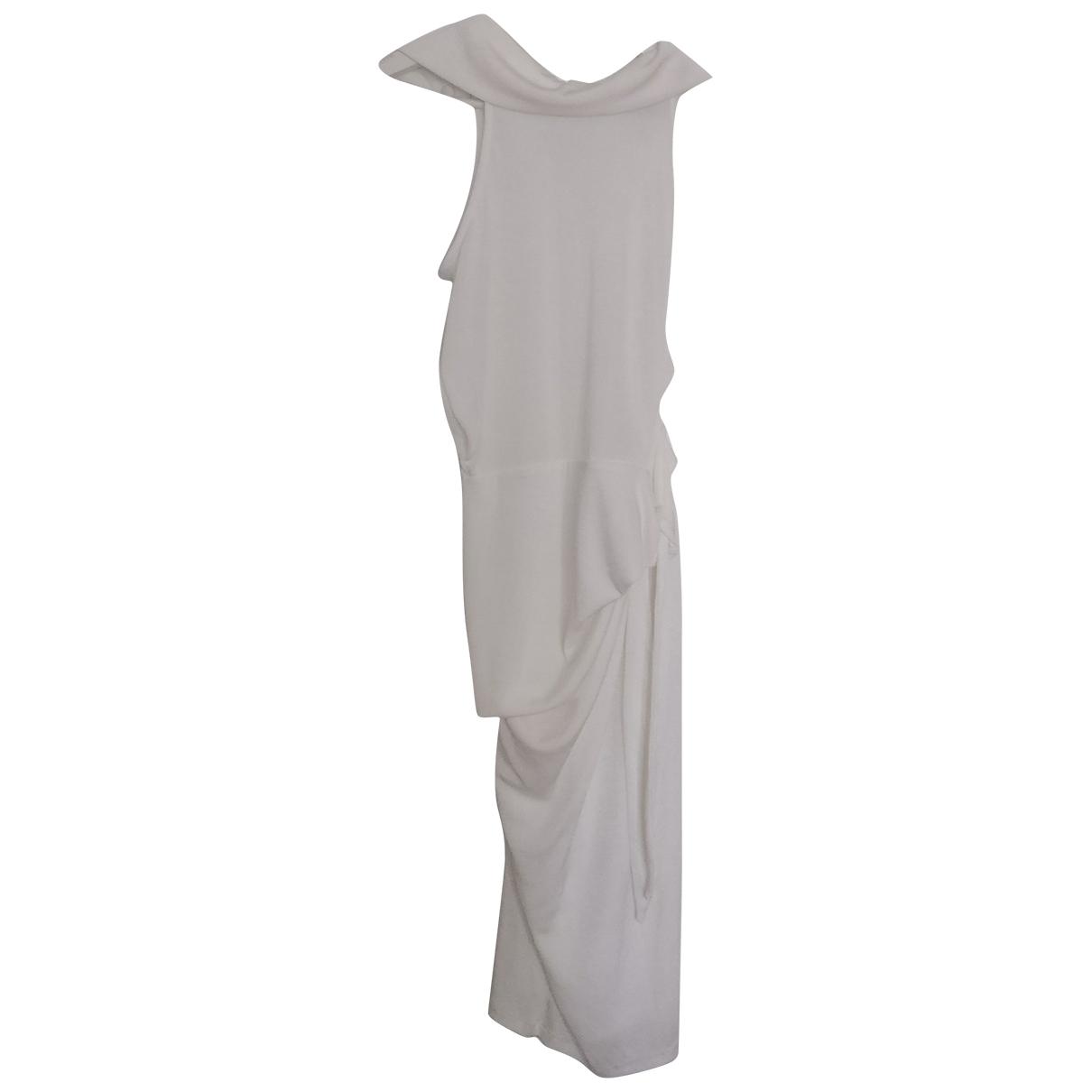 Asos \N Kleid in  Weiss Polyester