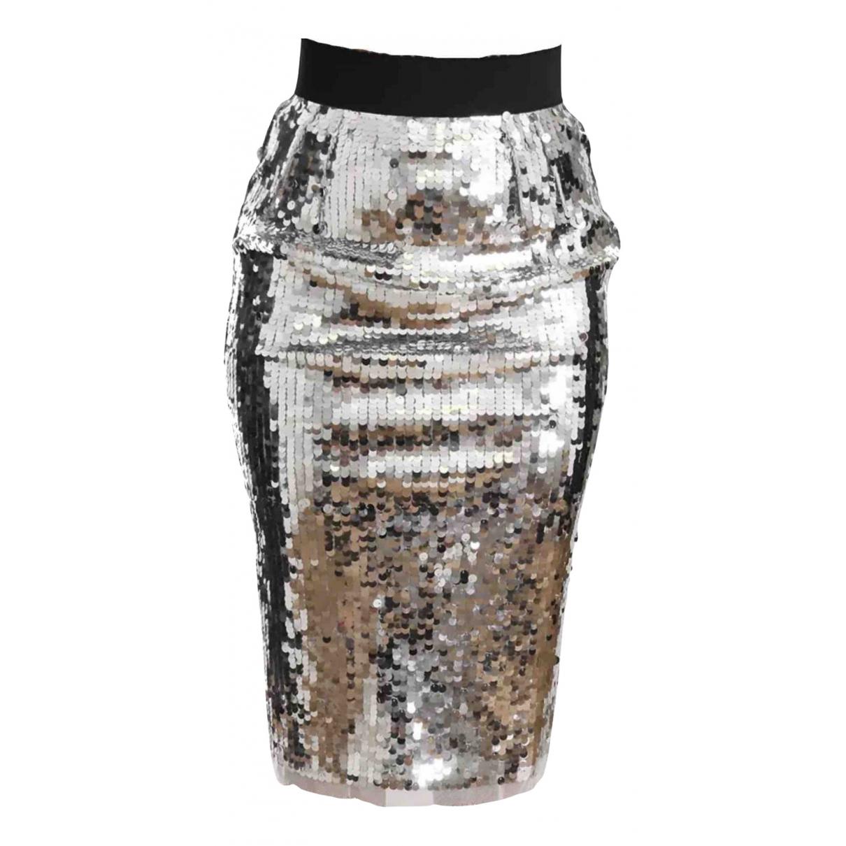 Dolce & Gabbana - Jupe   pour femme - argente