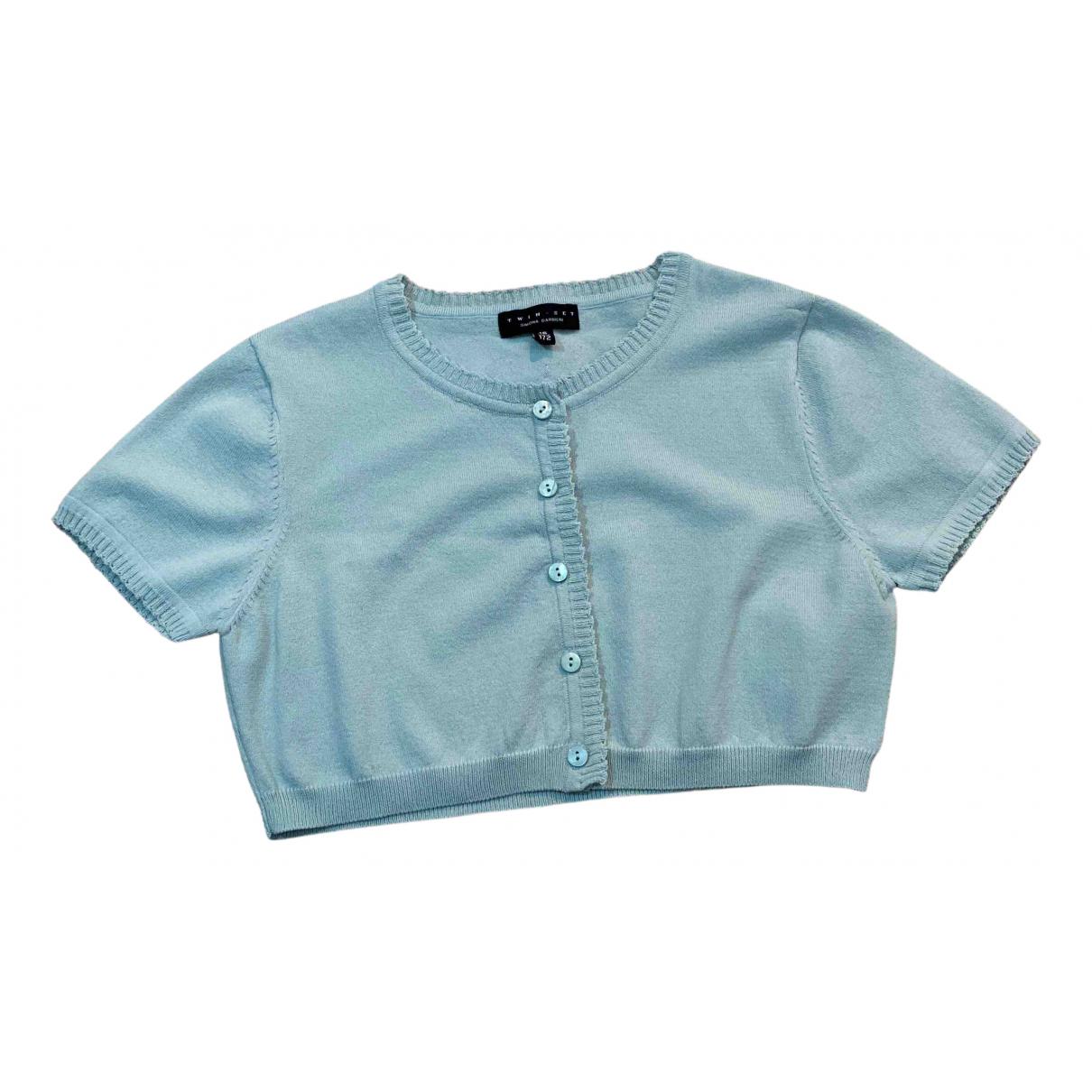 Twin Set N Blue Knitwear for Kids 12 years - XS UK