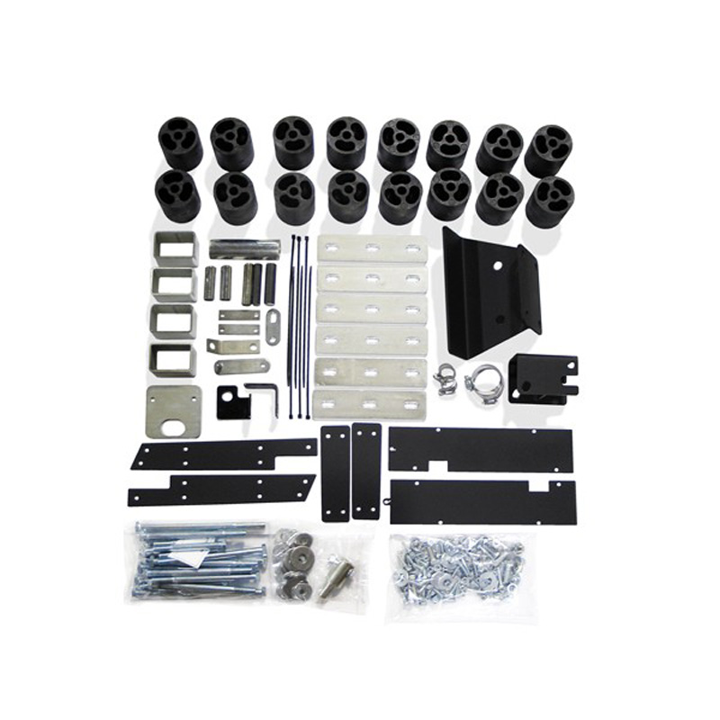 3 Inch Body Lift Kit 10-12 Dodge Ram 2500/3500 4WD Diesel Performance Accessories PA60213