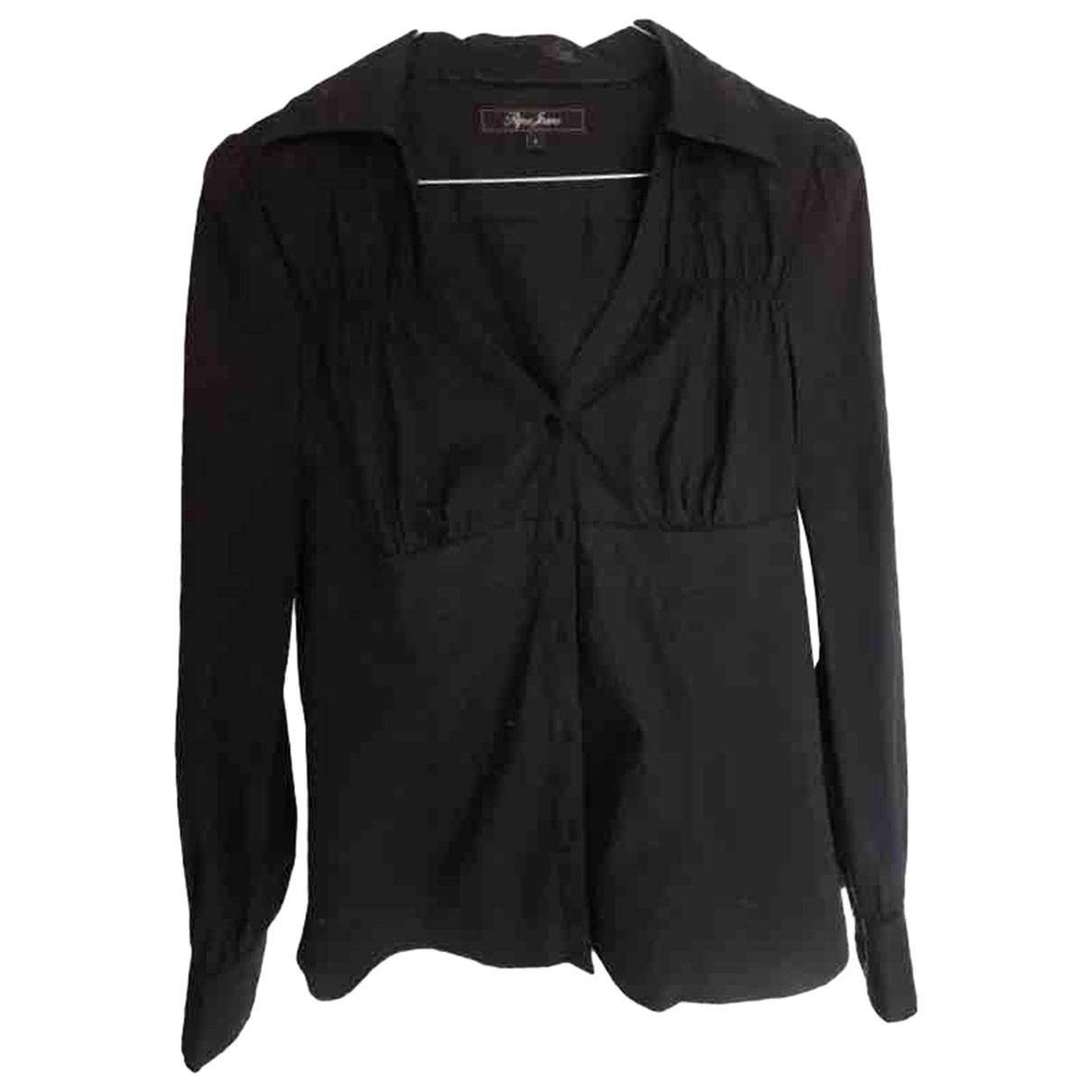 Patrizia Pepe \N Black Cotton Knitwear for Women S International