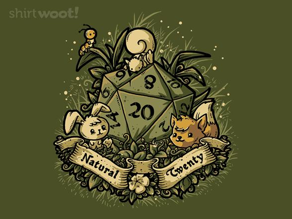 Natural 20 T Shirt