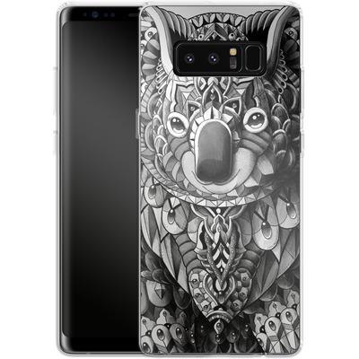 Samsung Galaxy Note 8 Silikon Handyhuelle - Koala von BIOWORKZ