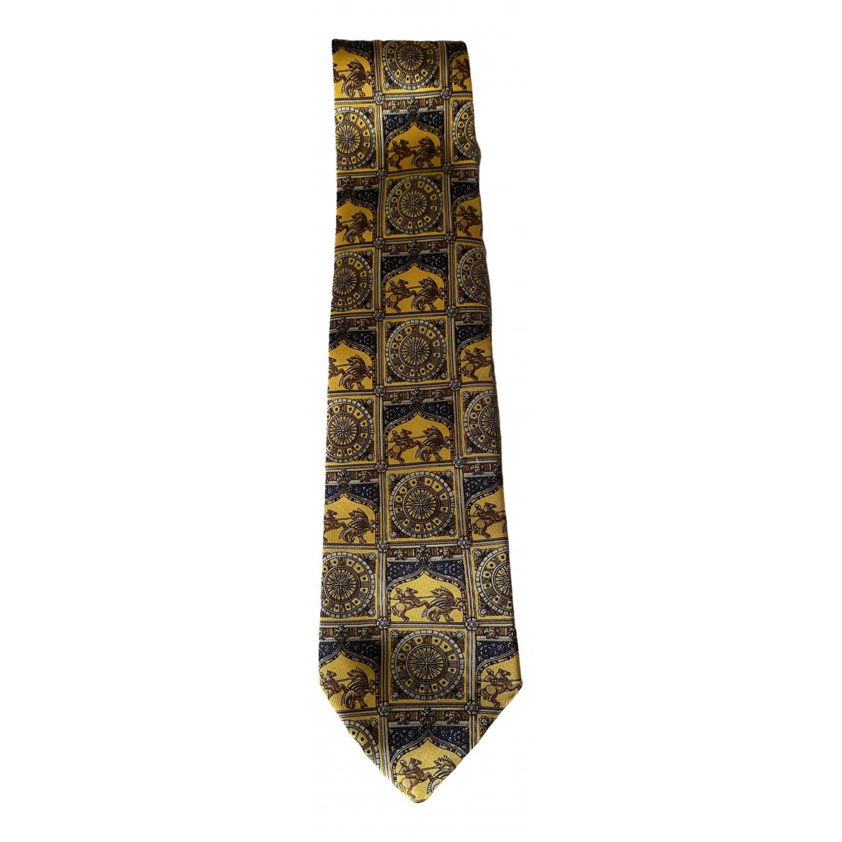 Liberty Of London \N Krawatten in  Gold Seide