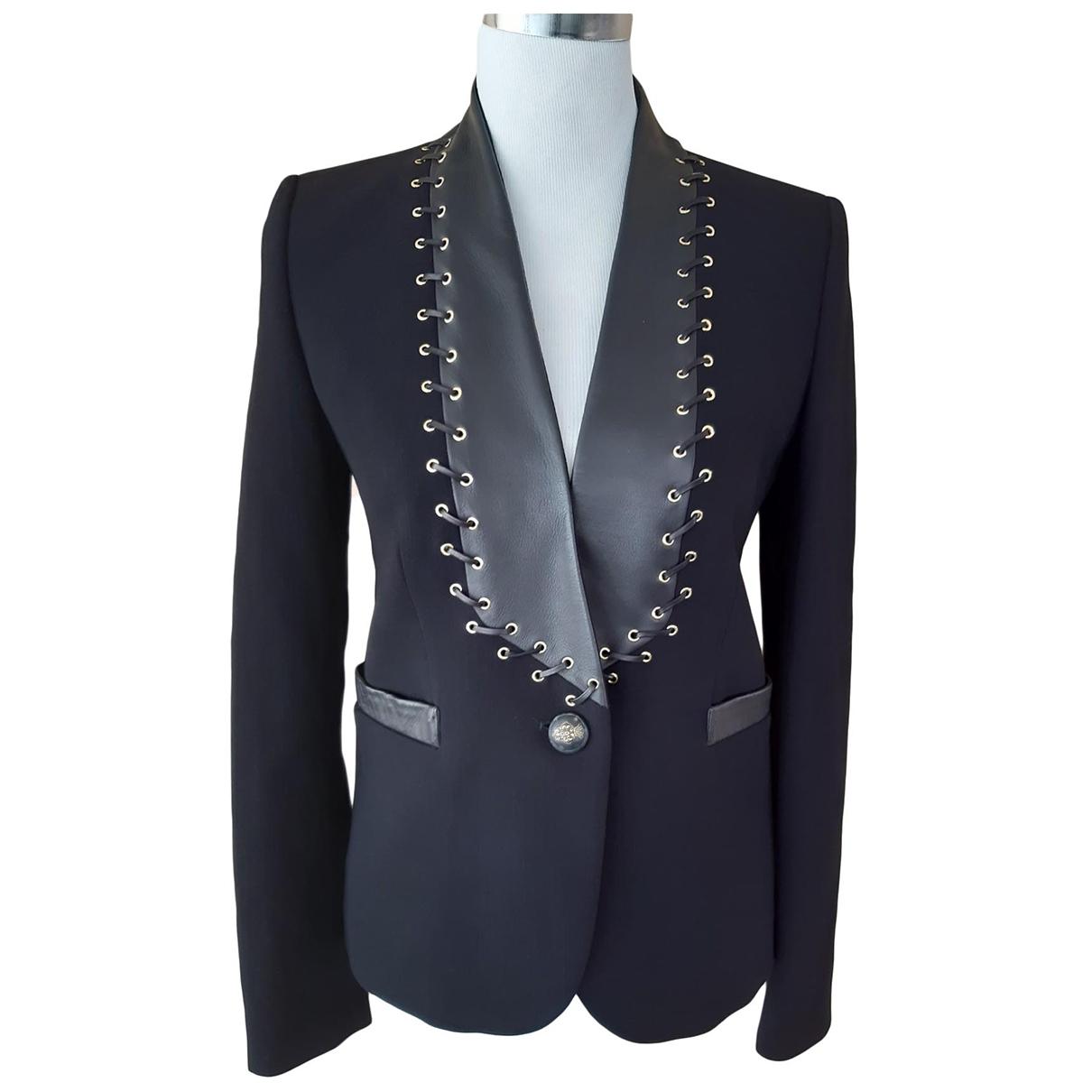 Emilio Pucci - Veste   pour femme en laine - noir