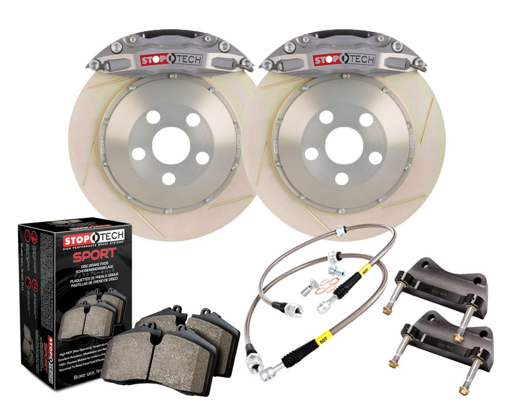 StopTech 83.622.0043.R3 Trophy Sport Big Brake Kit 2 Piece Rotor; Rear Mitsubishi Rear 2.0L 4-Cyl