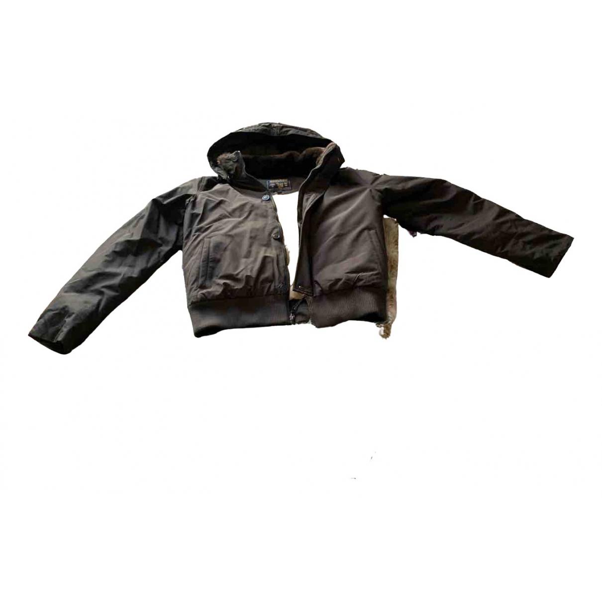 Woolrich - Blousons.Manteaux   pour enfant - marron