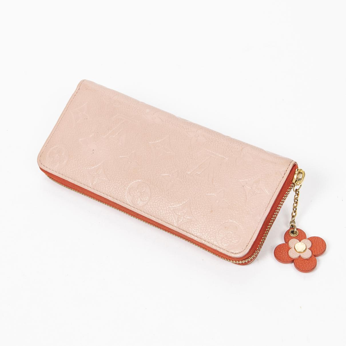 Louis Vuitton \N Portemonnaie Rosa