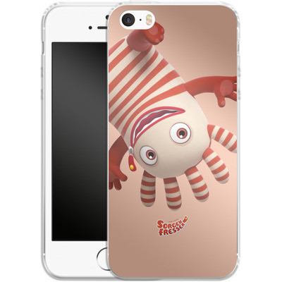 Apple iPhone 5s Silikon Handyhuelle - Sorgenfresser Saggo von Sorgenfresser