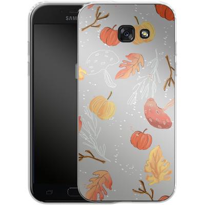 Samsung Galaxy A5 (2017) Silikon Handyhuelle - Fall Woodland Grey von Mukta Lata Barua