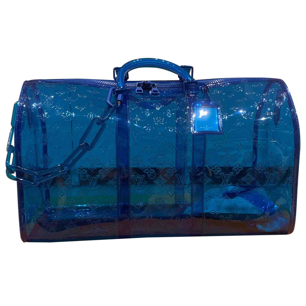 Louis Vuitton Keepall Prism Blue bag for Men \N