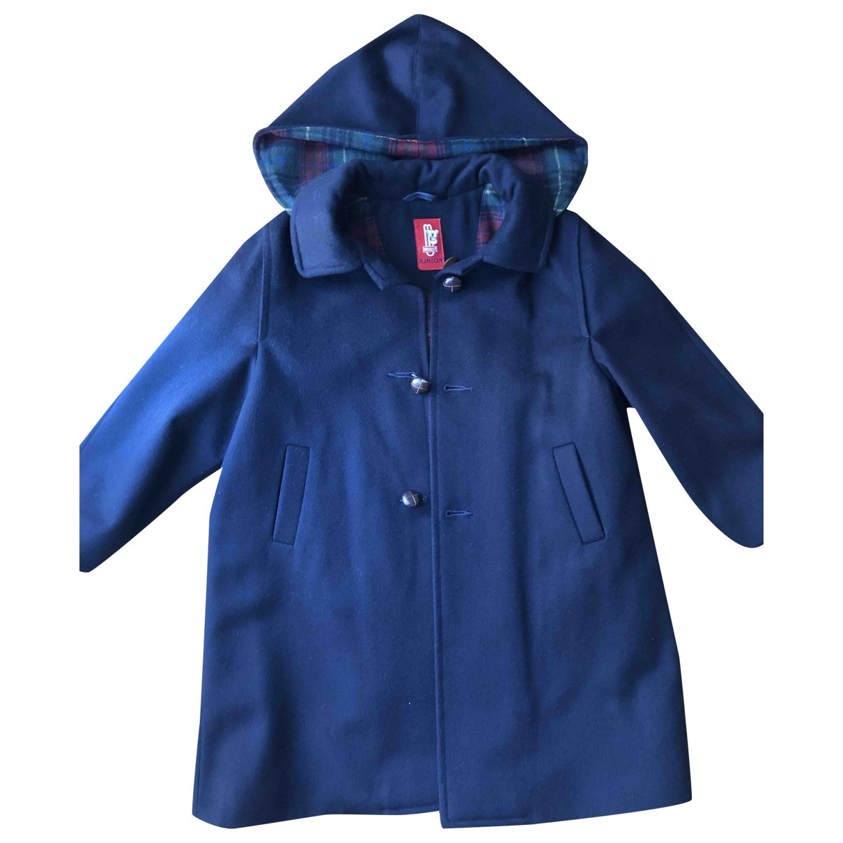Non Signé / Unsigned \N Blue Wool jacket & coat for Kids 4 years - up to 102cm FR