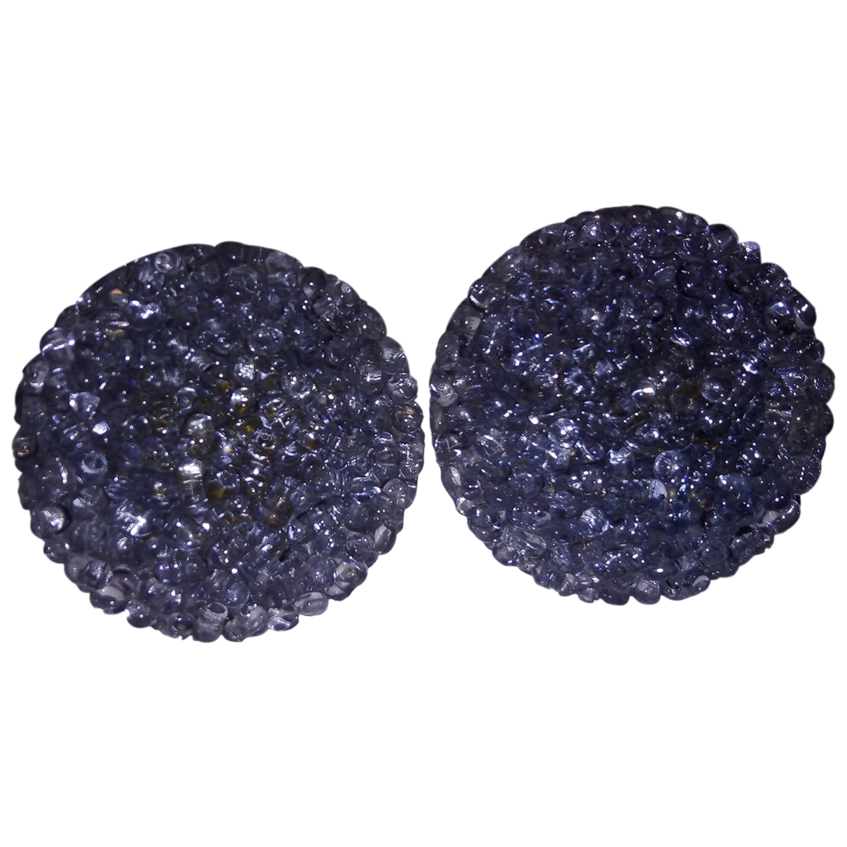 Non Signé / Unsigned \N Crystal Earrings for Women \N