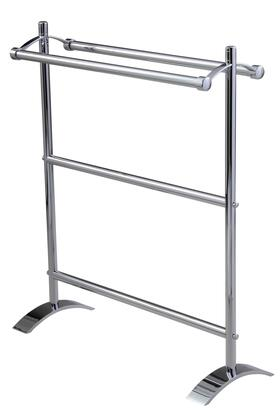 Essentials 53519ES Small Freestanding Double Towel Holder 33