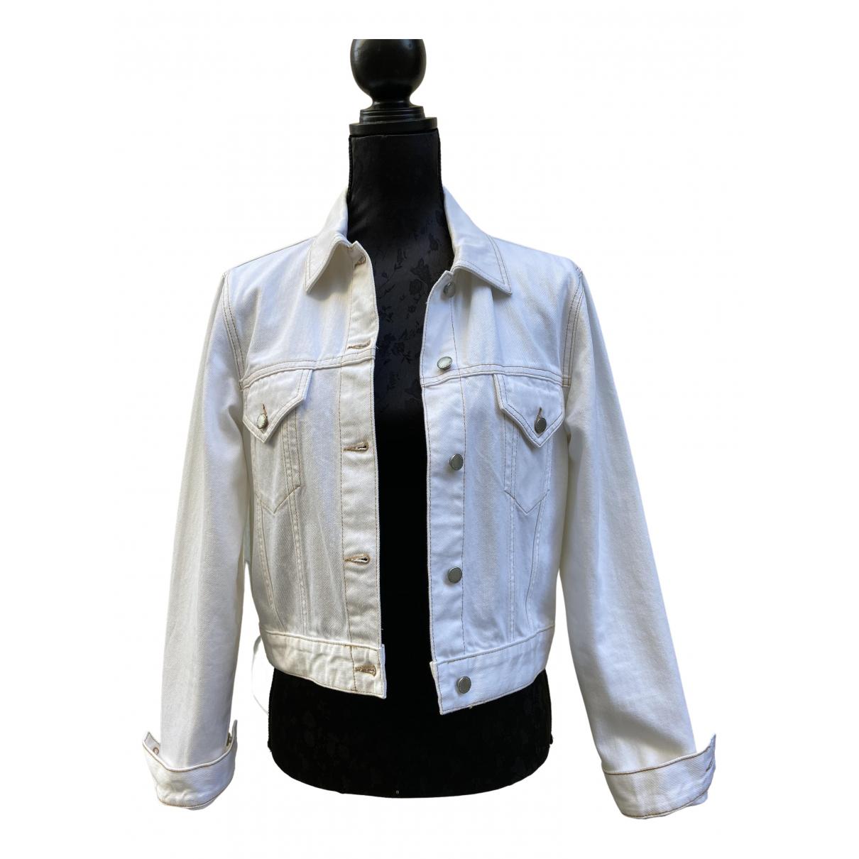 Maje - Veste   pour femme en coton - blanc