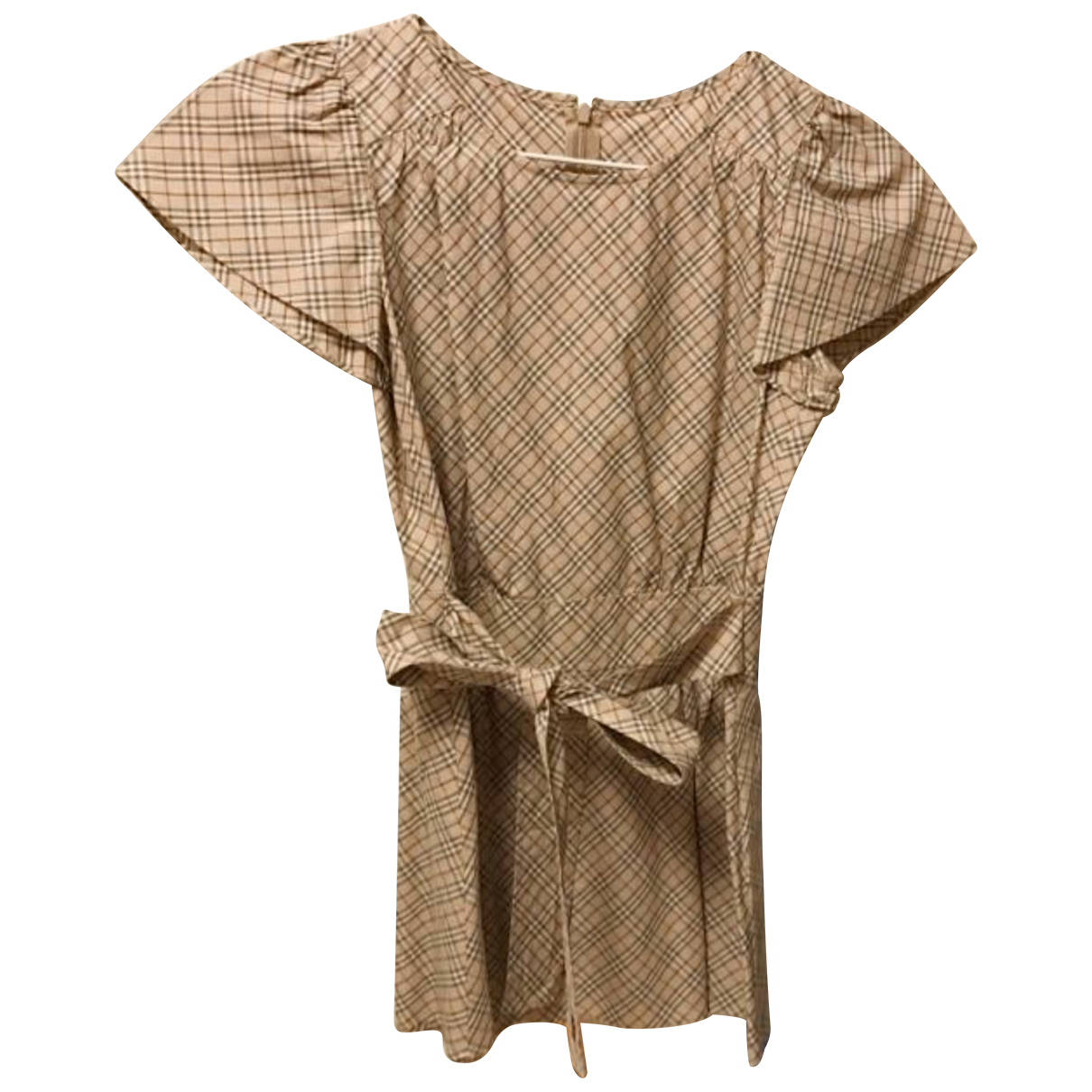 Burberry \N Camel Cotton  top for Women 36 IT