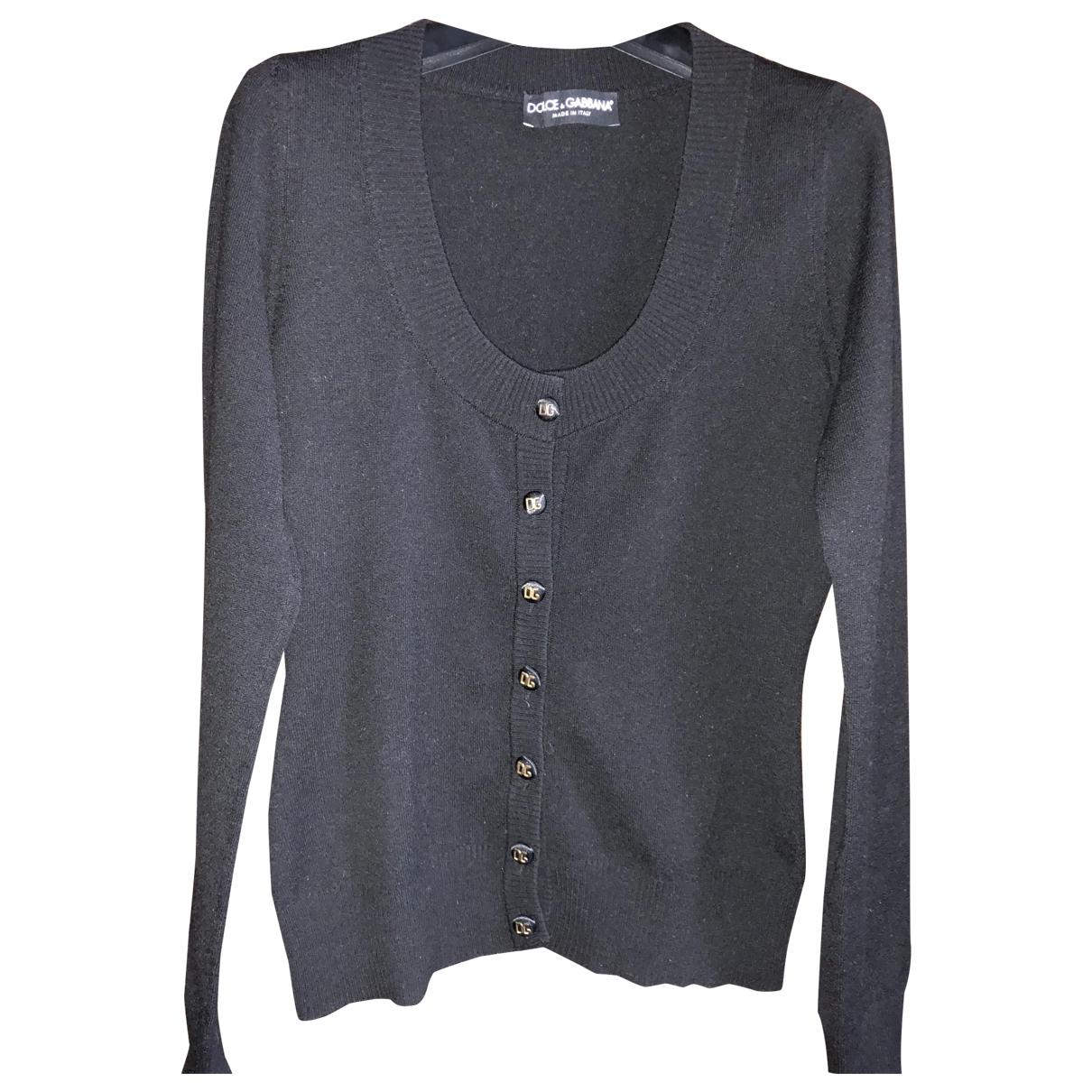 Dolce & Gabbana \N Pullover in  Schwarz Viskose