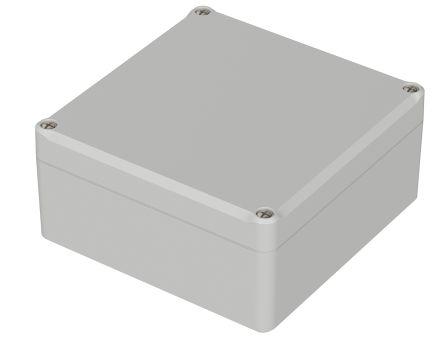 Bopla Euromas II, Light Grey ABS Enclosure, IP65, Flanged, 122 x 120 x 57mm