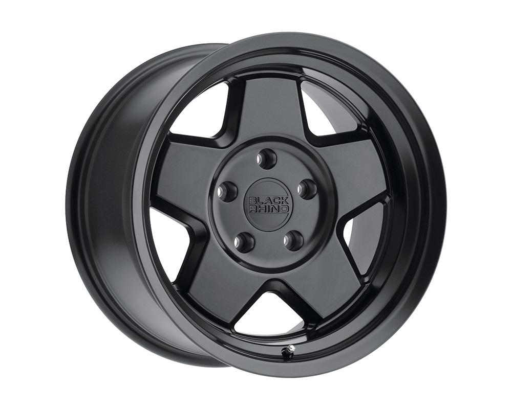 Black Rhino Realm Wheel 17x9.5  5x150 0mm Semi Gloss Black