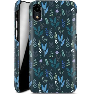 Apple iPhone XR Smartphone Huelle - Blue Foliage von Iisa Monttinen