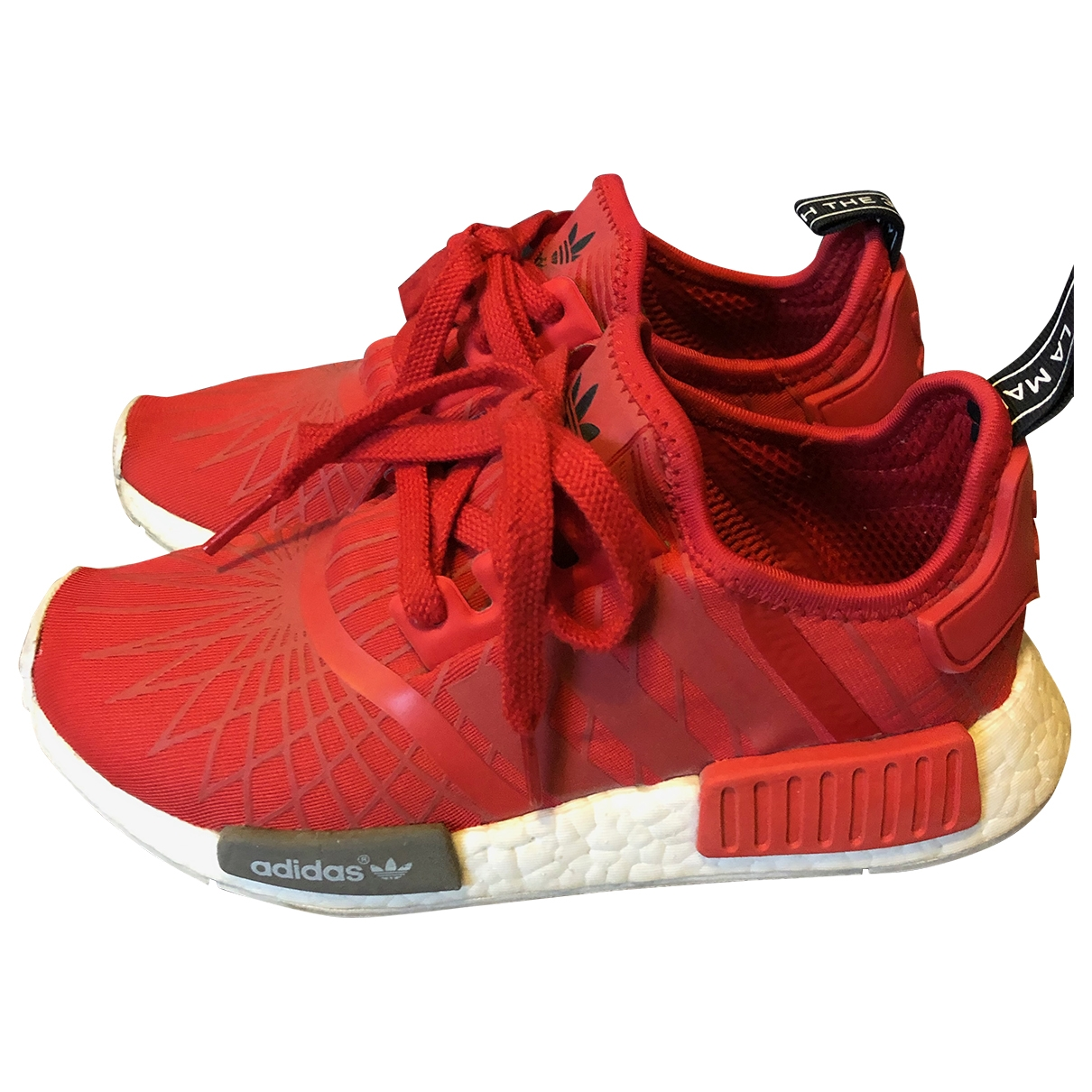 Adidas Nmd Red Trainers for Women 3.5 UK