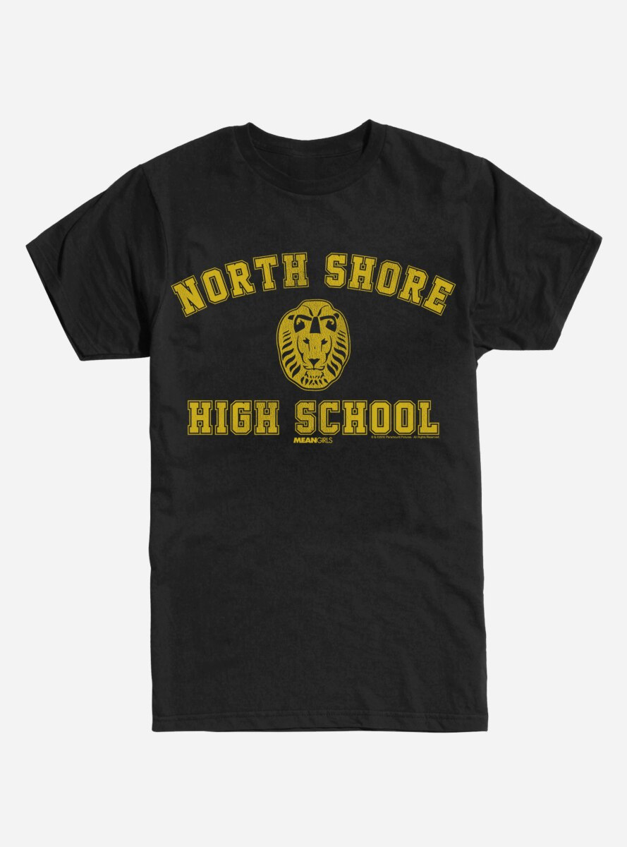 Mean Girls North Shore High School T-Shirt