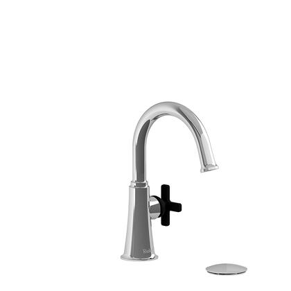 Momenti MMRDS01XCBK-05 Single Hole Lavatory Faucet with x Cross Handle 0.5 GPM  in