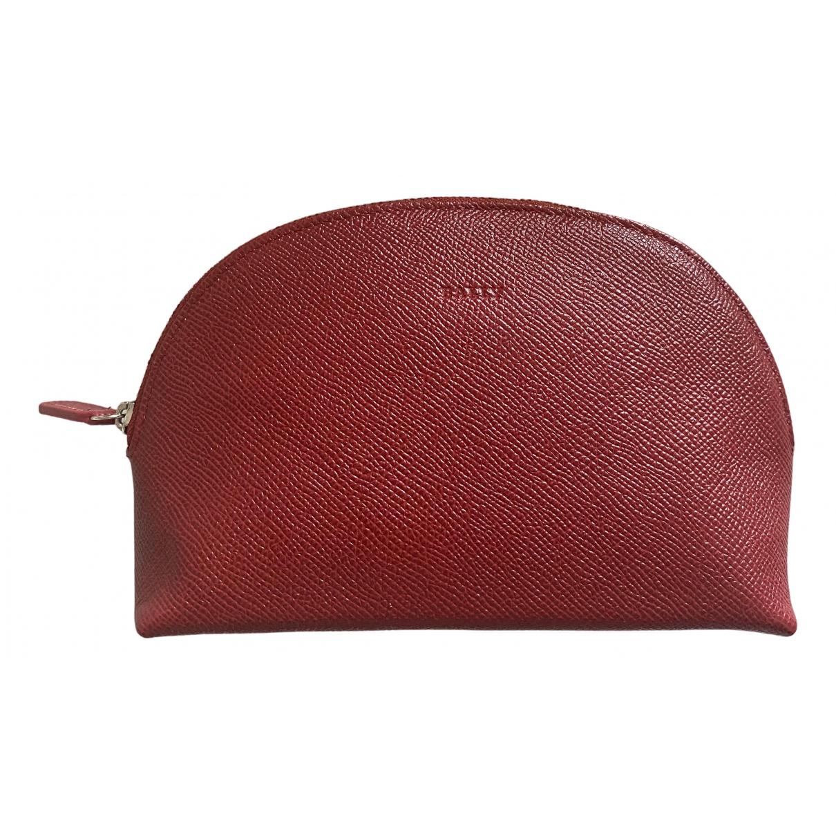 Bally \N Kleinlederwaren in  Rot Leder