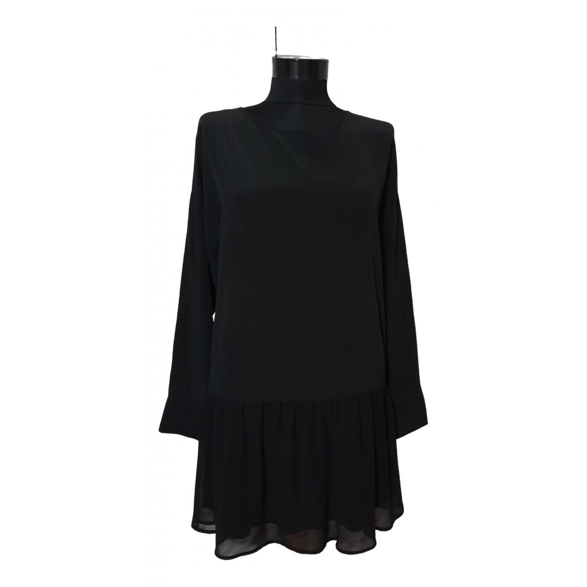 Anine Bing \N Kleid in  Schwarz Seide