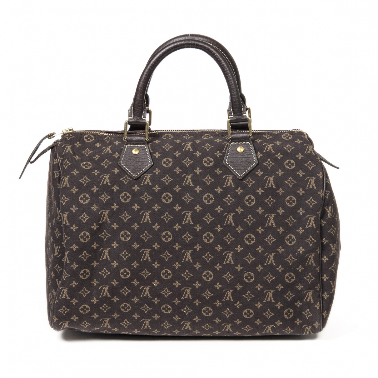 Louis Vuitton \N Handtasche in  Braun Baumwolle