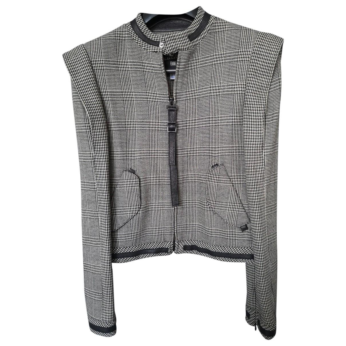 Jean Paul Gaultier - Veste   pour femme en laine - gris
