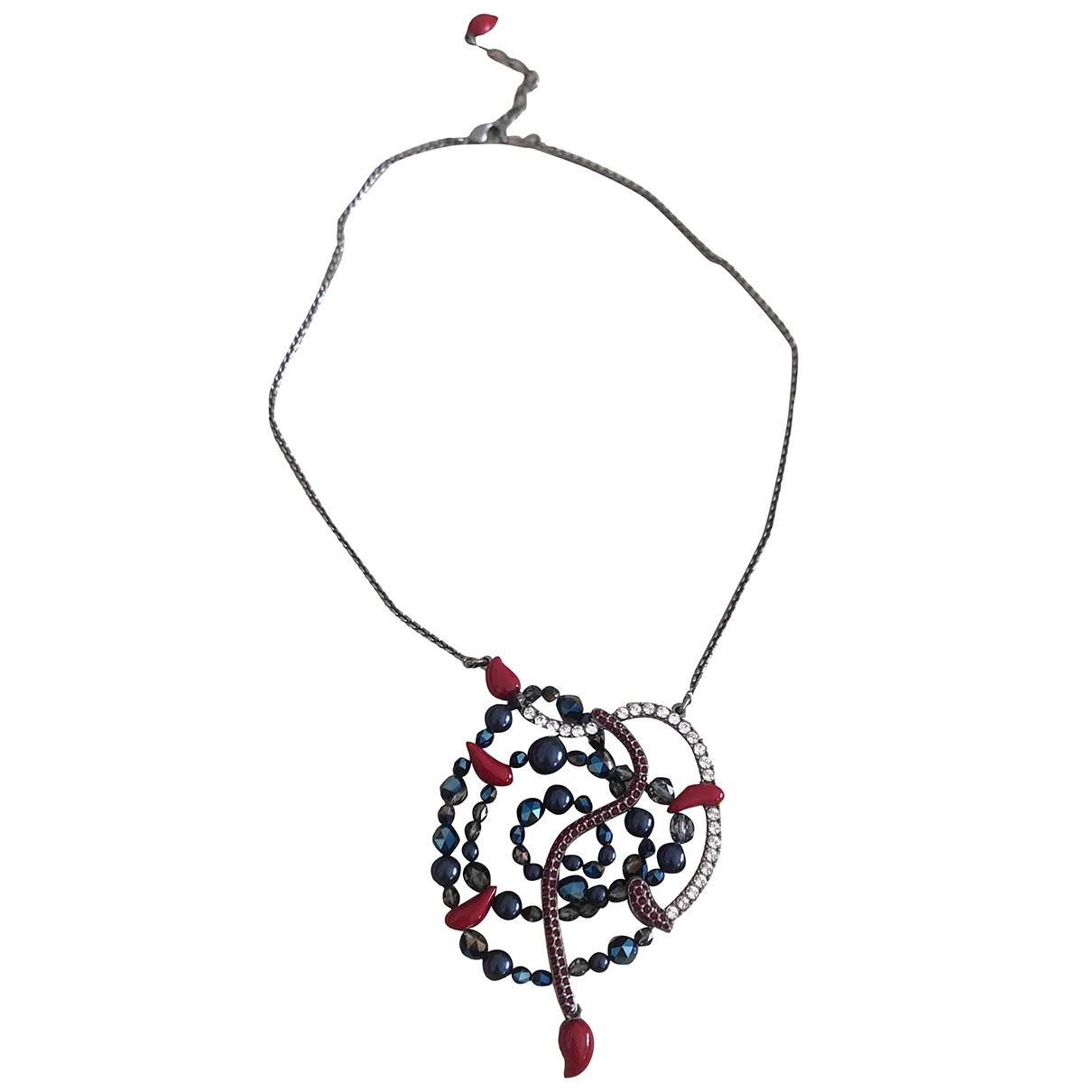 Swarovski \N Blue Crystal necklace for Women \N