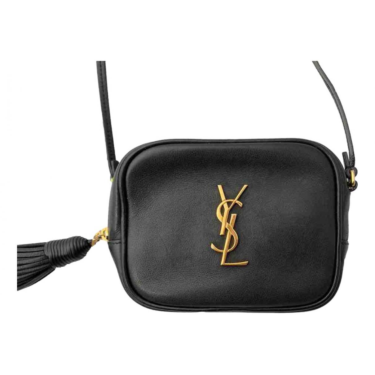 Saint Laurent Blogger Black Leather handbag for Women \N