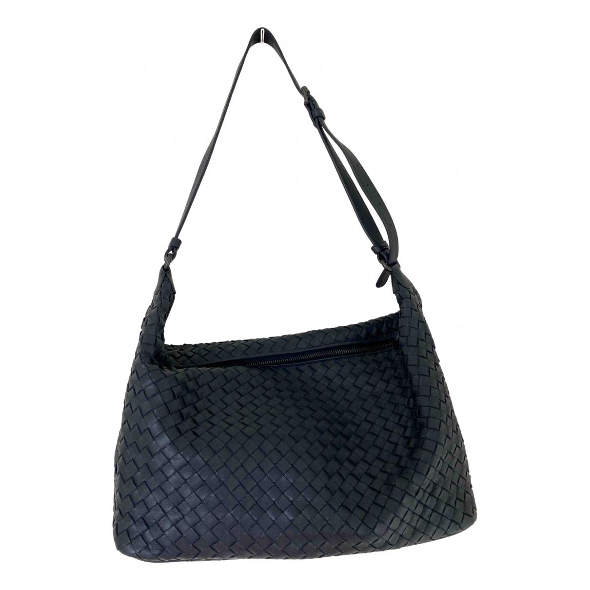 Bottega Veneta N Navy Leather handbag for Women N