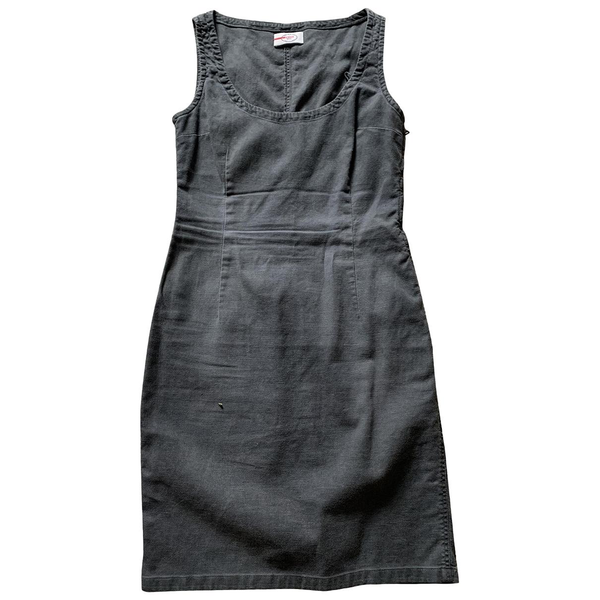 Prada - Robe   pour femme en coton - gris