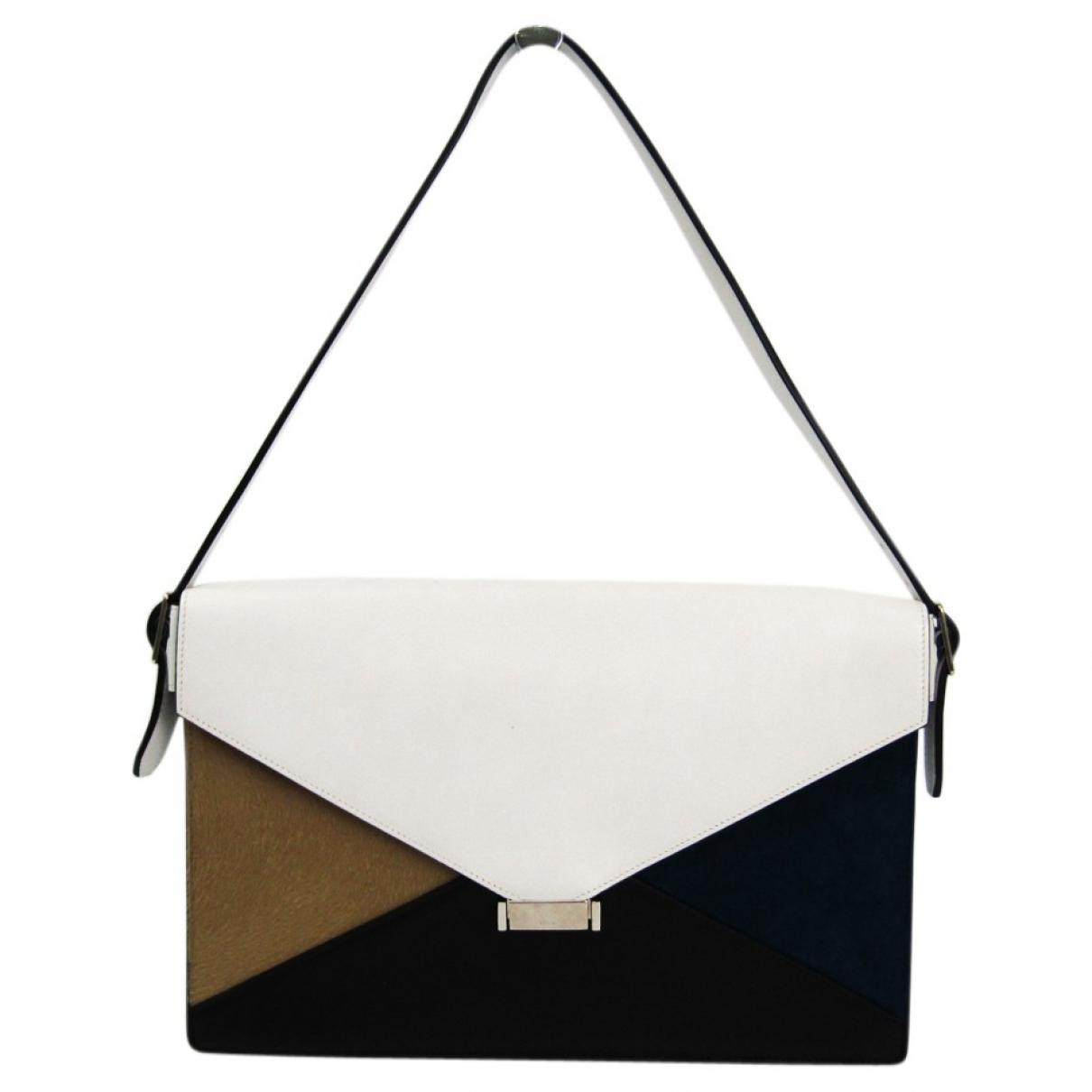 Celine Diamond Clutch Handtasche in  Bunt Leder