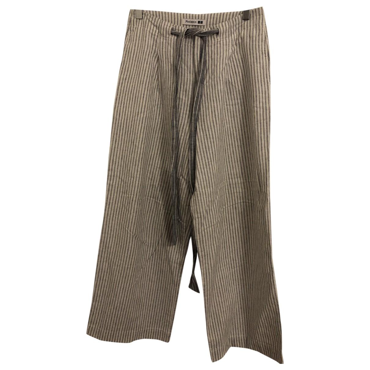 Uniqlo \N White Linen Trousers for Women S International