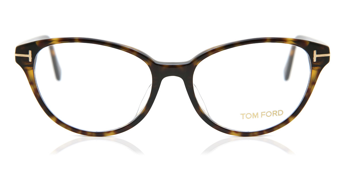 Tom Ford FT5422F Asian Fit 052 Women's Glasses Tortoise Size 53 - Free Lenses - HSA/FSA Insurance - Blue Light Block Available