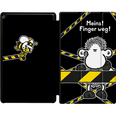 Amazon Fire HD 10 (2017) Tablet Smart Case - Finger Weg von Sheepworld