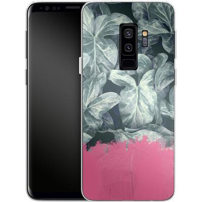 Samsung Galaxy S9 Plus Silikon Handyhuelle - Sweet Pink on Jungle von Emanuela Carratoni