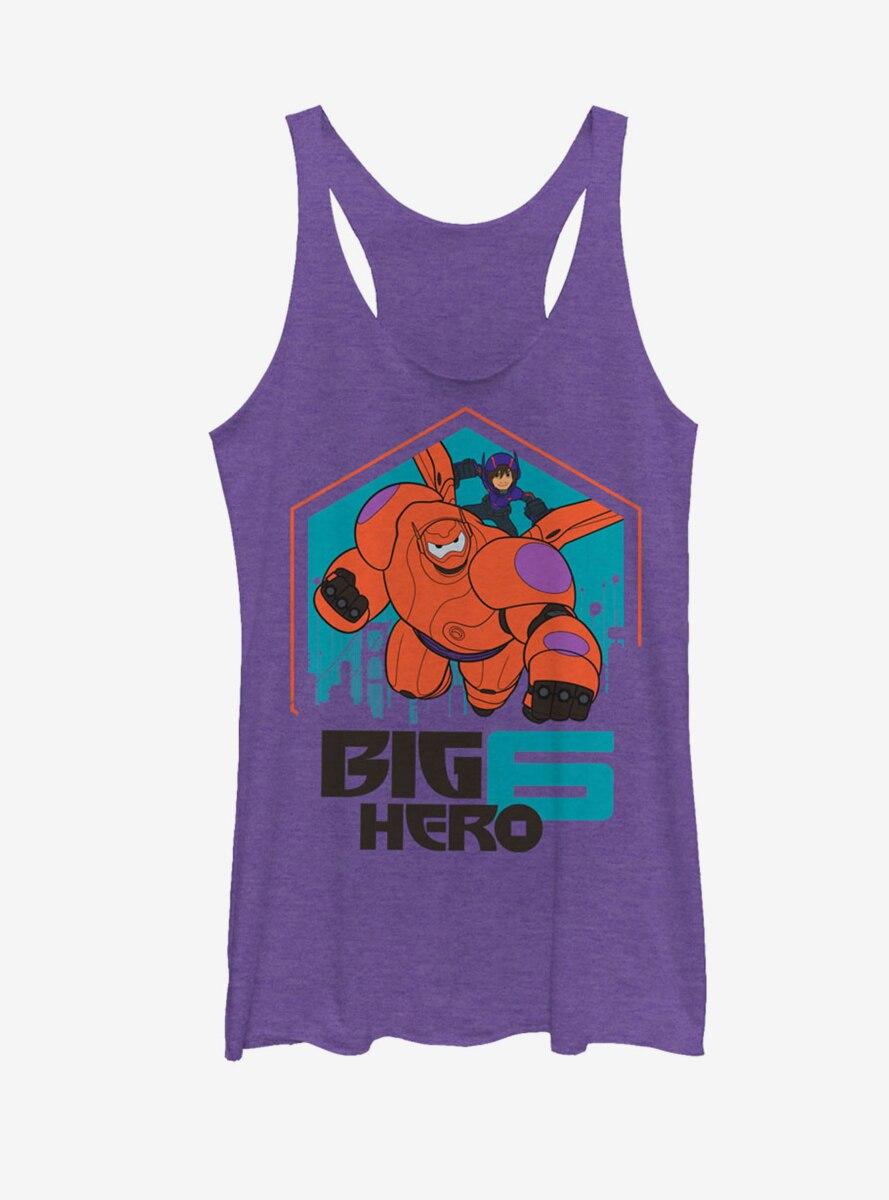 Disney Big Hero 6 Baymax and Hiro San Fransokyo Womens Tank