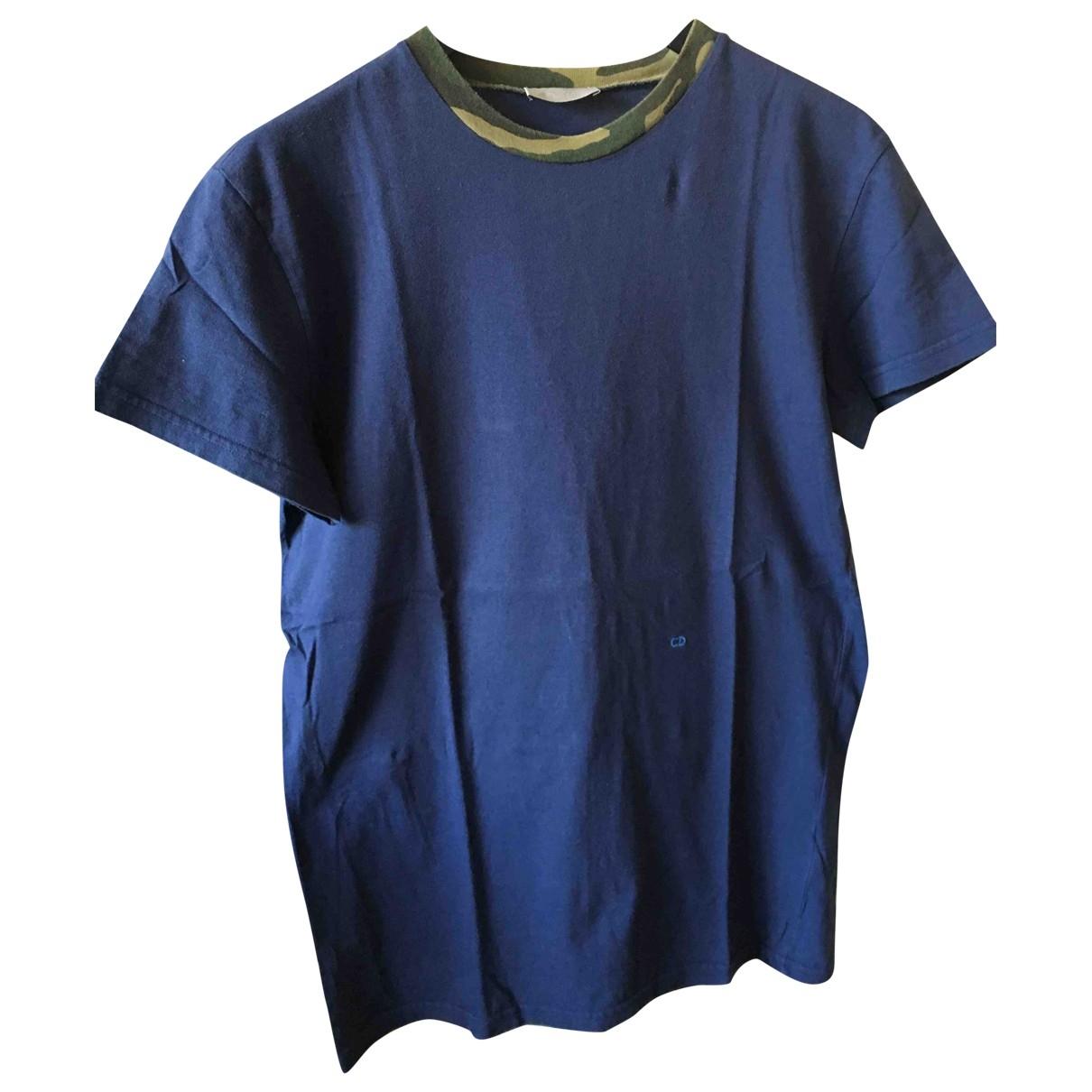 Dior \N Blue Cotton T-shirts for Men XS International