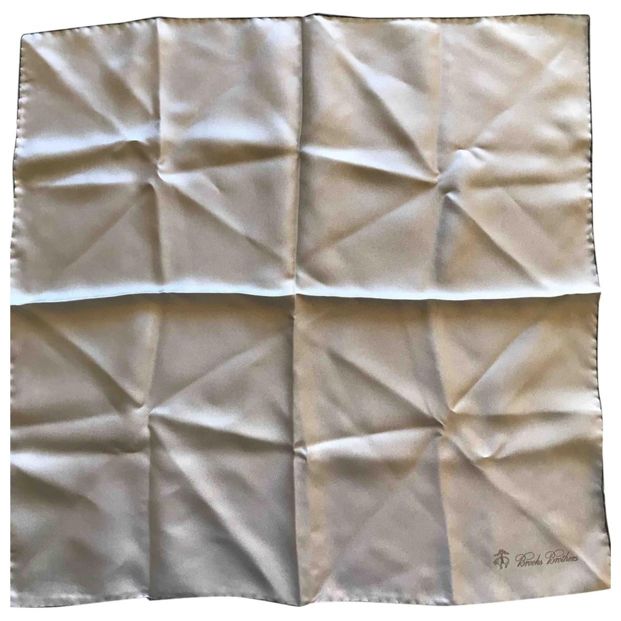 Pañuelo / bufanda de Seda Brooks Brothers