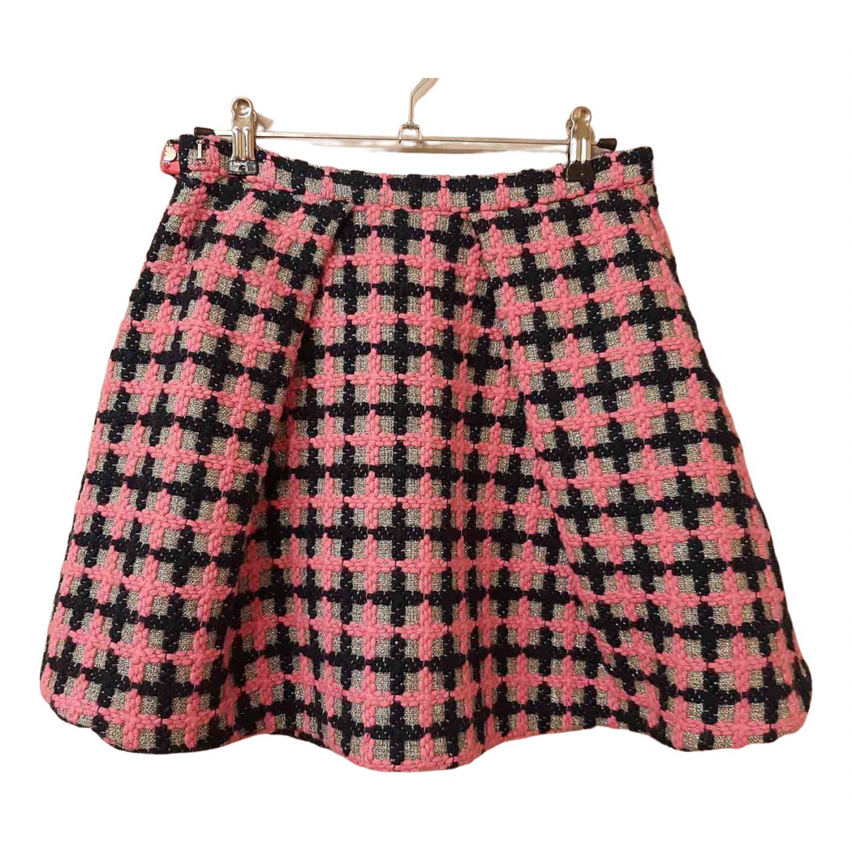 Marc By Marc Jacobs N Pink Tweed skirt for Women 2 US