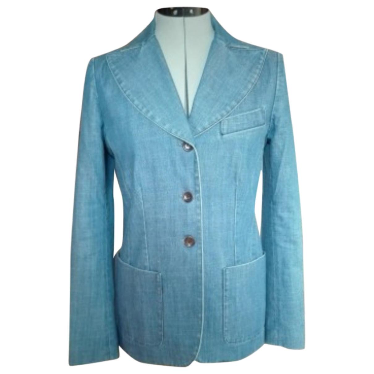 Gerard Darel - Veste   pour femme en denim - bleu