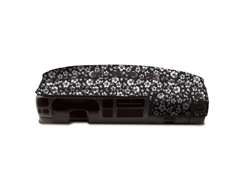 Cover King Custom Tailored Velour Dashboard Cover Hawaiian Black Toyota Prius 2004-2009