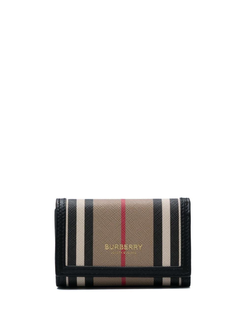 Icon Stripe Tri-fold Wallet