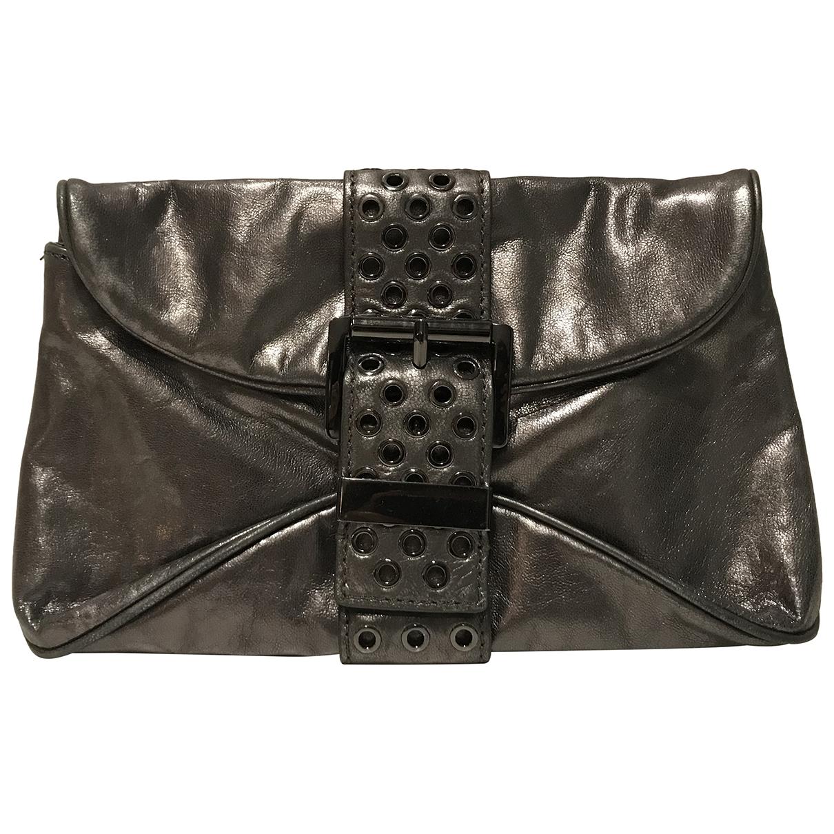 Michael Kors \N Metallic Leather Clutch bag for Women \N