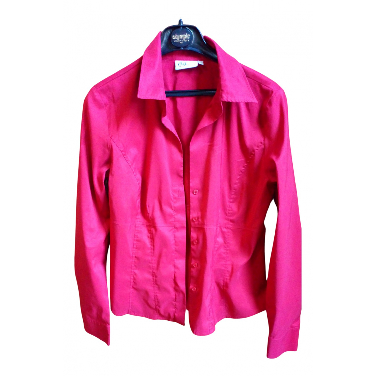 Marella N Red Cotton  top for Women 40 IT