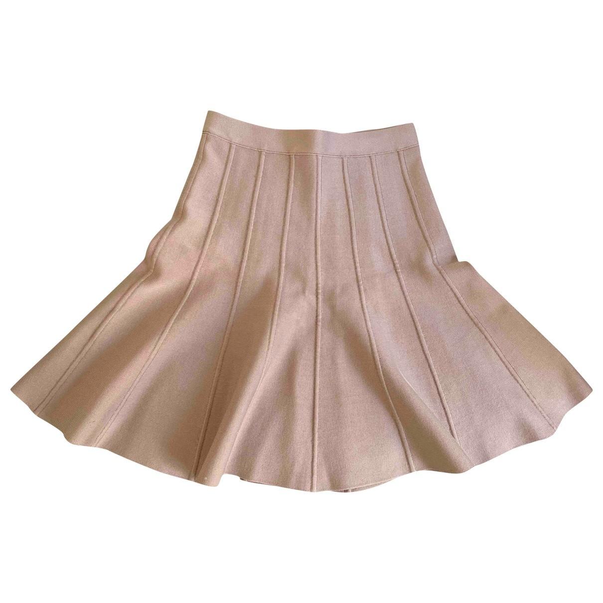 Herve Leger - Jupe   pour femme - beige